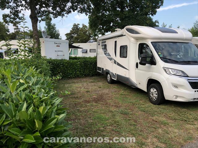 área de autocaravanas de Auch | caravaneros.com