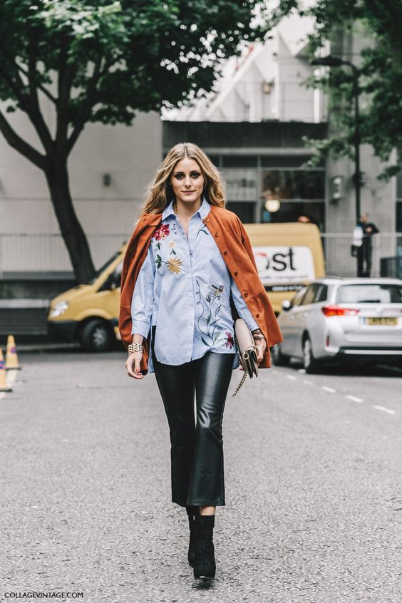 Olivia Palermo London Fashion Week LFW SS17 Street Style