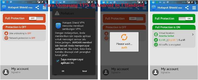 Cara Memasang VPN di Android secara manual