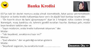 Banka Kredisi - Karışık Fıkralar - Komikler Burada