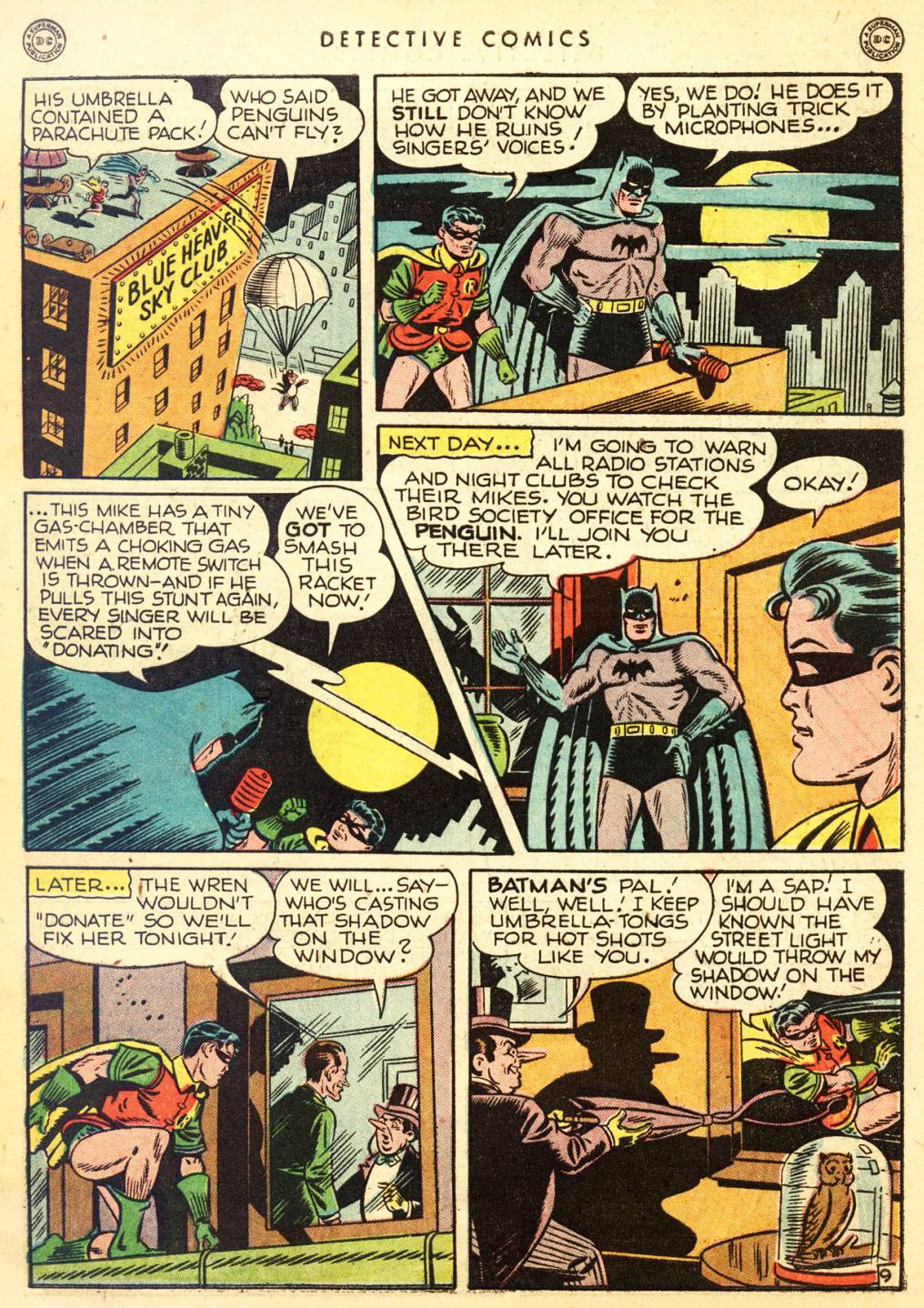 Read online Detective Comics (1937) comic -  Issue #126 - 11