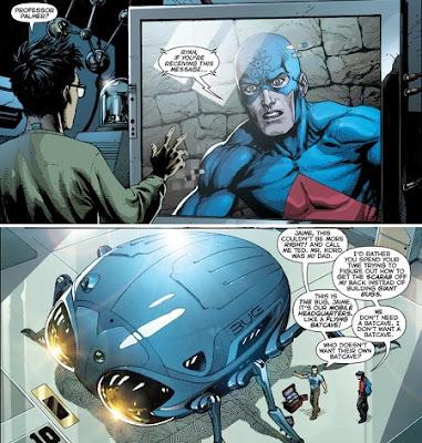 Атом і Синій Жук