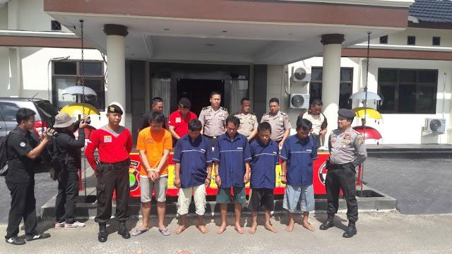 Polres Lampung Timur Ekpose Kasus Pemerasan
