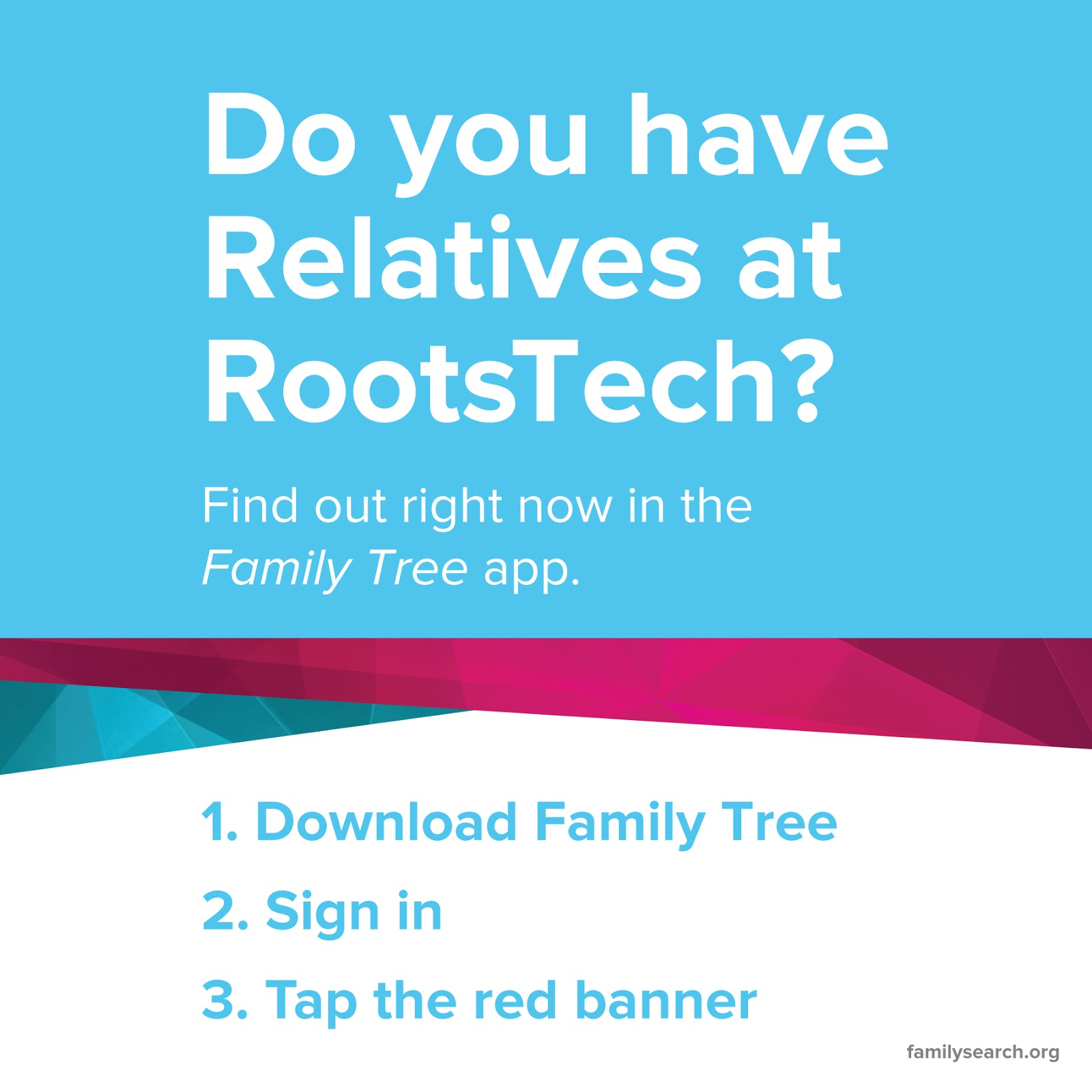 Family History Tech: Relatives at RootsTech