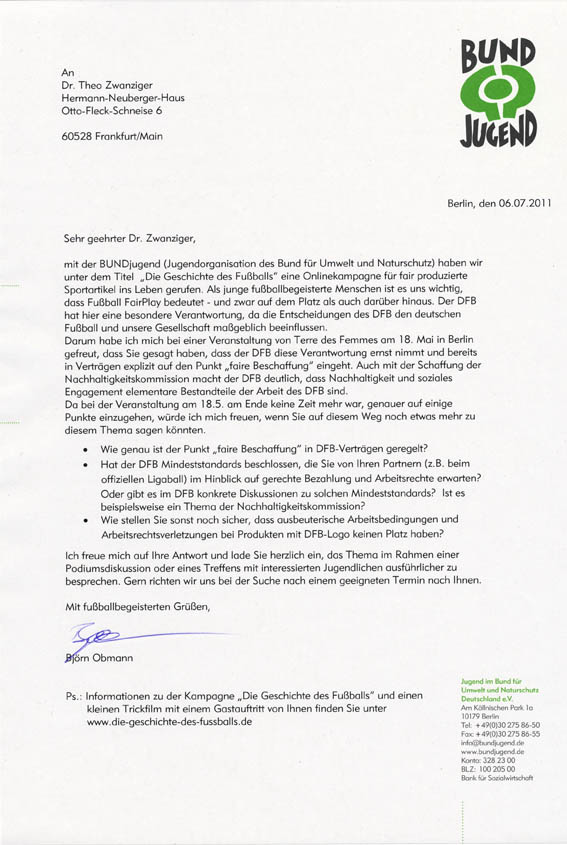 Theo Zwanziger Schreibt Blöden Brief Und Schaut Unseren Trickfilm