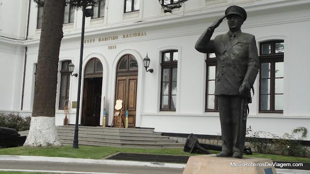 Entrada do Museu Marítimo Nacional - Valparaíso, Chile