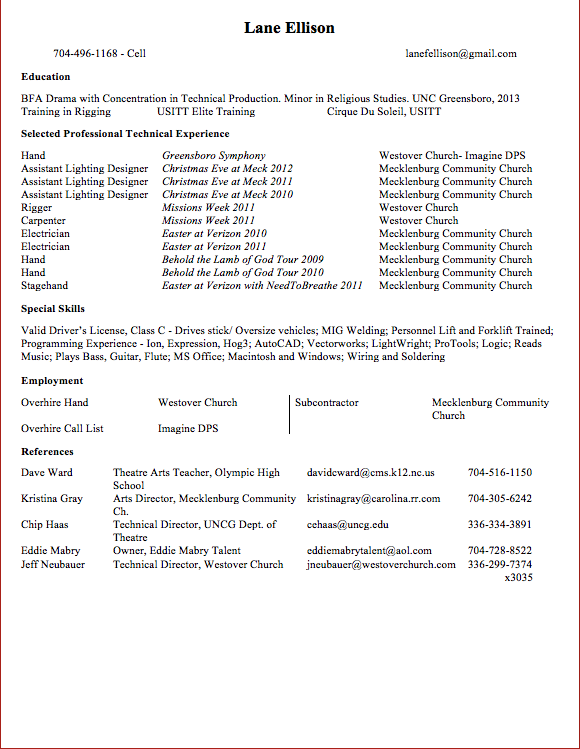 Church Resume. Secretarial Resume Template Images About Resume On