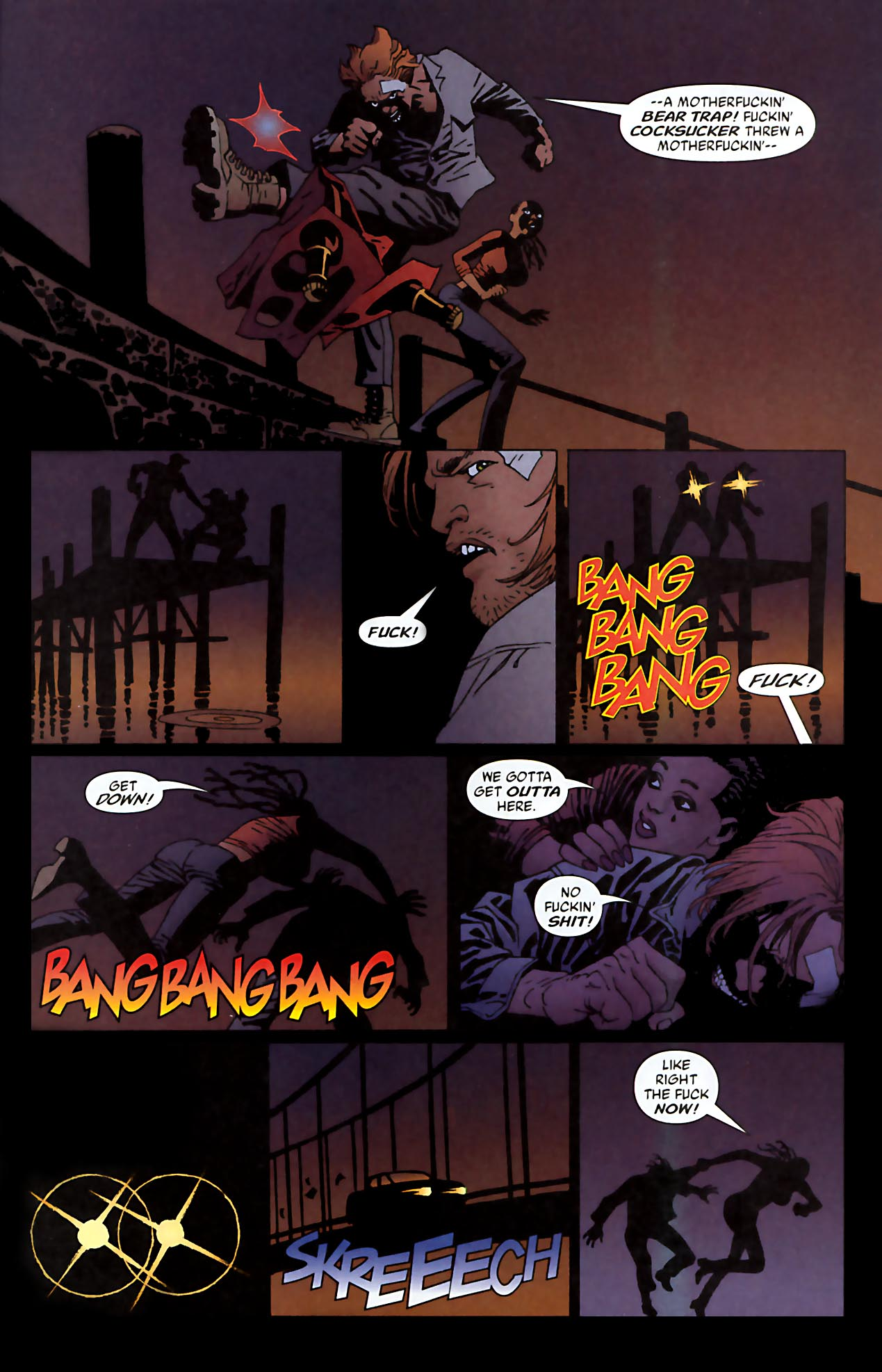 Read online 100 Bullets comic -  Issue #52 - 14