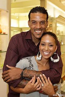 Matt Barnes and His Wife Gloria
