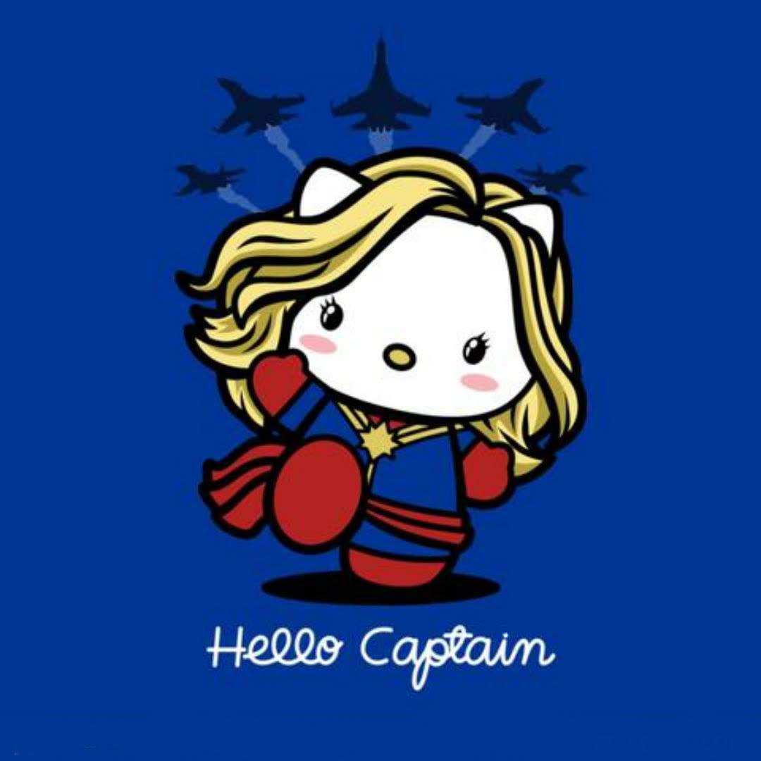 Hello Captain Marvel : ハロー・キャプテン・マーベル❤