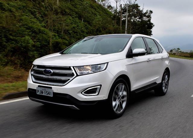 Novo Ford Edge 2017 - Branco Sibéria
