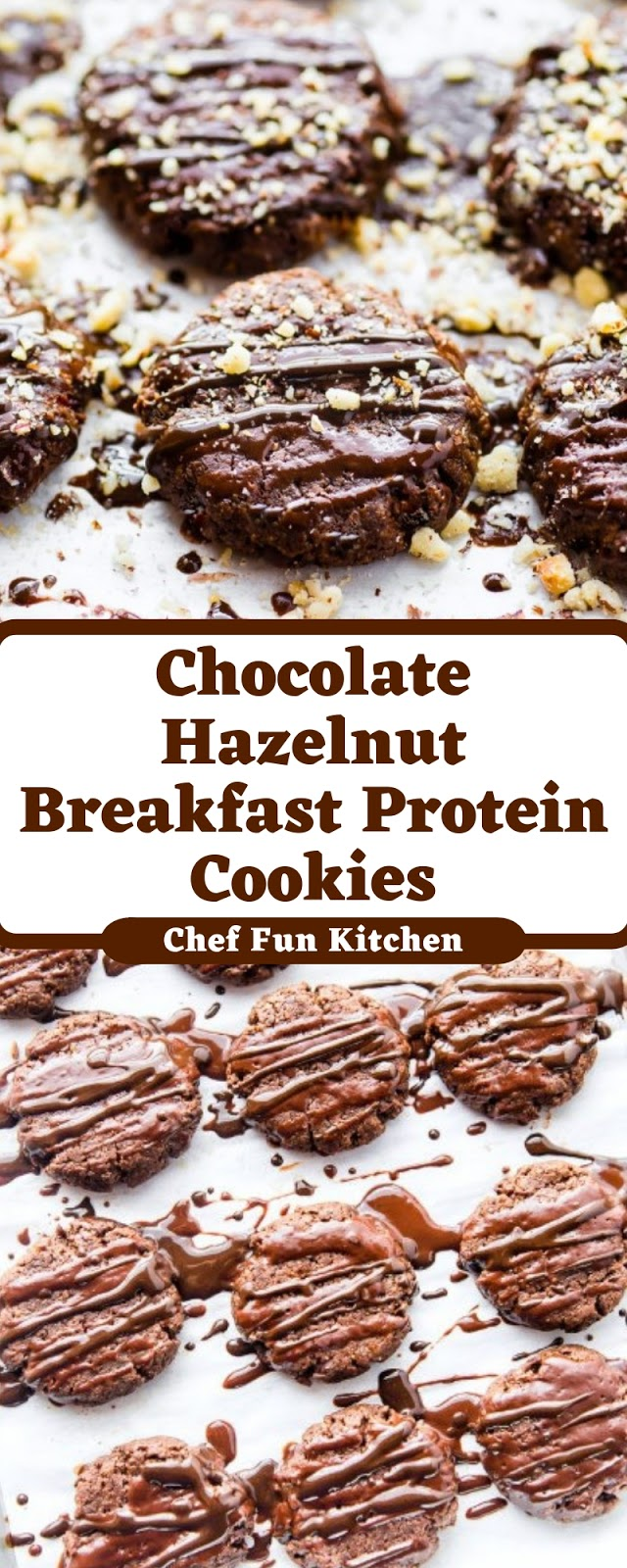Chocolate Hazelnut Breakfast Protein Cookies