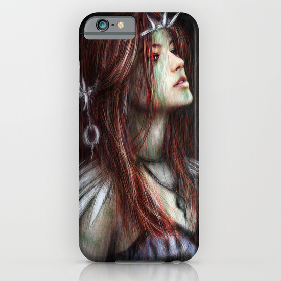 iPhone cased from Society6 by Justin Gedak