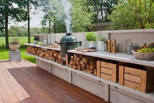 PUNTXET Llega el tiempo de disfrutar del sol y de las barbacoas #barbacoa #bbq #deco #decoracion #jardin #garden #outdoor #biggreenegg