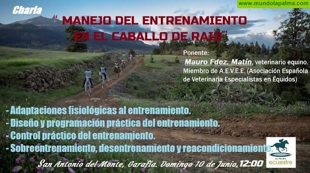 """Charla """"Manejo del Entrenamiento en el Caballo de Raid"""""""