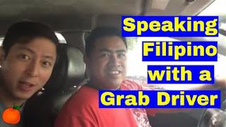 Speaking Tagalog, grabcar, grab, grabcar driver, speak tagalog, speak filipino, challenge, learning filipino language, learning tagalog, grab car, learning languages