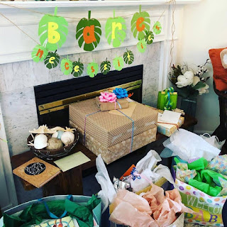 Eco-Friendly Unwrapped Baby Shower