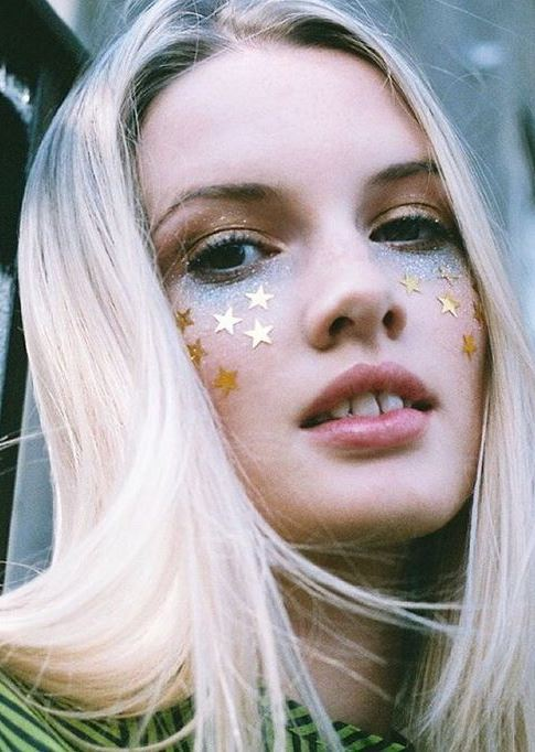 GLITTER TEARS. The hottest new make up trend