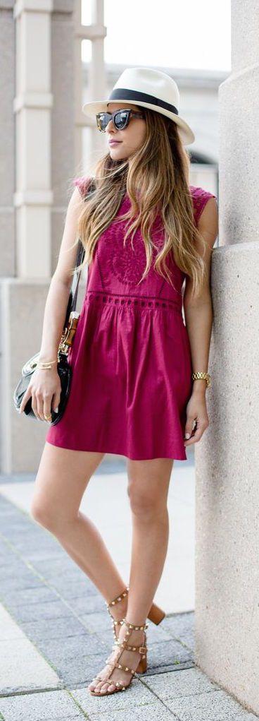 Loft Summer Eyelet Dress