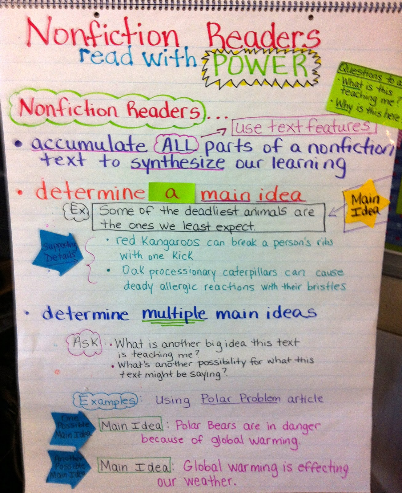 Two Reflective Teachers A Peek At The Nonfiction Work In