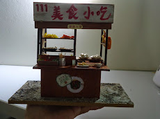 My handmade mini hawker stall