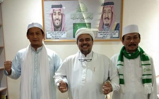 Terungkap! Sebelum Ditahan Polisi Arab, HRS Kirim Rekaman Audio Berisi Pesan Khusus ke Prabowo