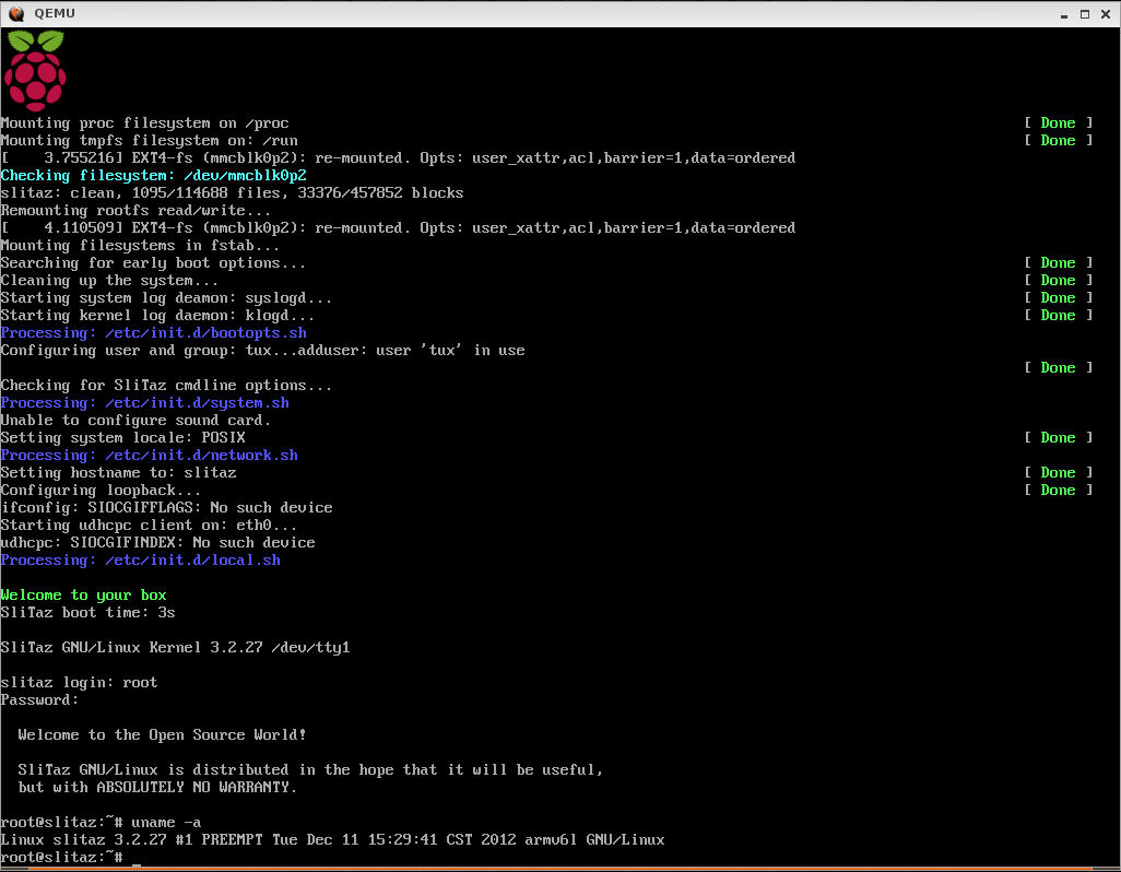 Slitaz's Notes - Alanyih: QEMU patches for Raspberry Pi ...