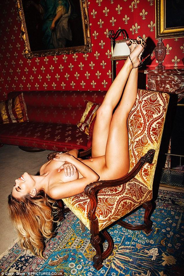 Love Island's Megan Barton Hanson  poses nude in racy photoshoot