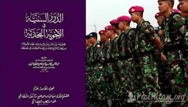 Ulama Wahabi: Memakai Seragam Tentara Termasuk Tasyabuh dan Bid'ah Dholalah