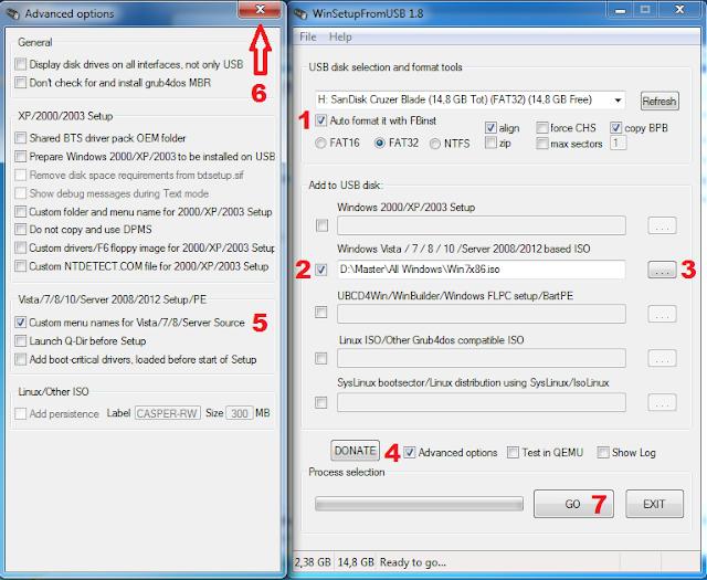 Cara membuat multi bootable usb windows tahap 1