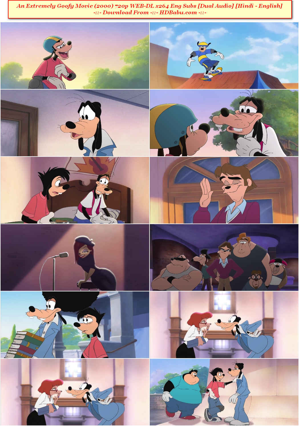 An Extremely Goofy Movie Hindi Dual Audio Full Movie Download
