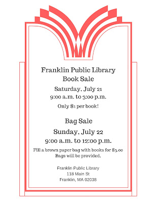 Franklin Public Library Book Sale - July 21-22