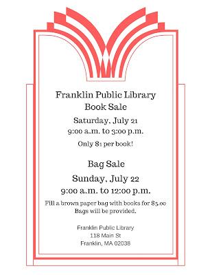 Franklin Public Library Book Sale - July 21-22