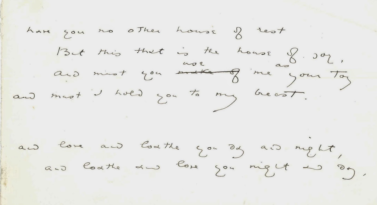 An excerpt of handwritten text.