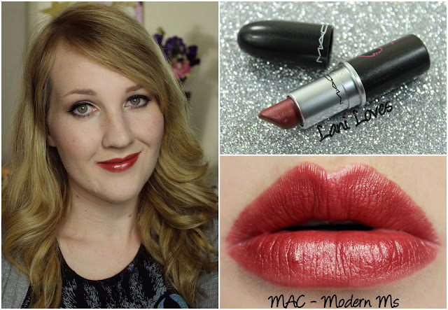 MAC Modern Ms lipstick swatch