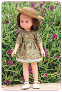Coudre une robe pour poupée Corolle