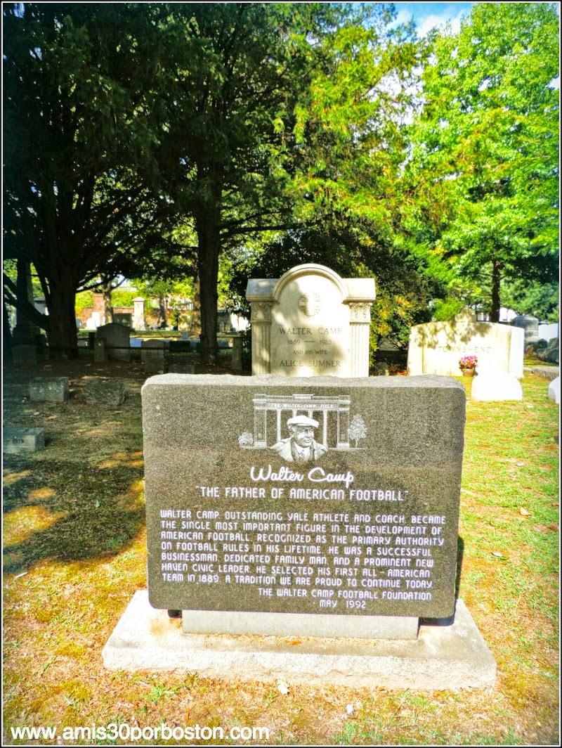 Grove Street Cemetery: Walter Camp
