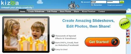 5 dịch vụ tạo slide ảnh miễn phí trên web