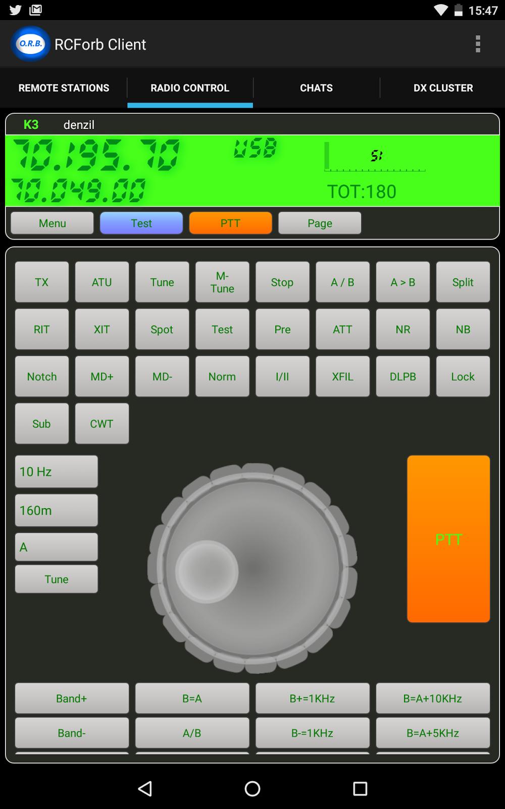 G4FRE RADIO BLOG: Using RCFOrb On a Nexus 7