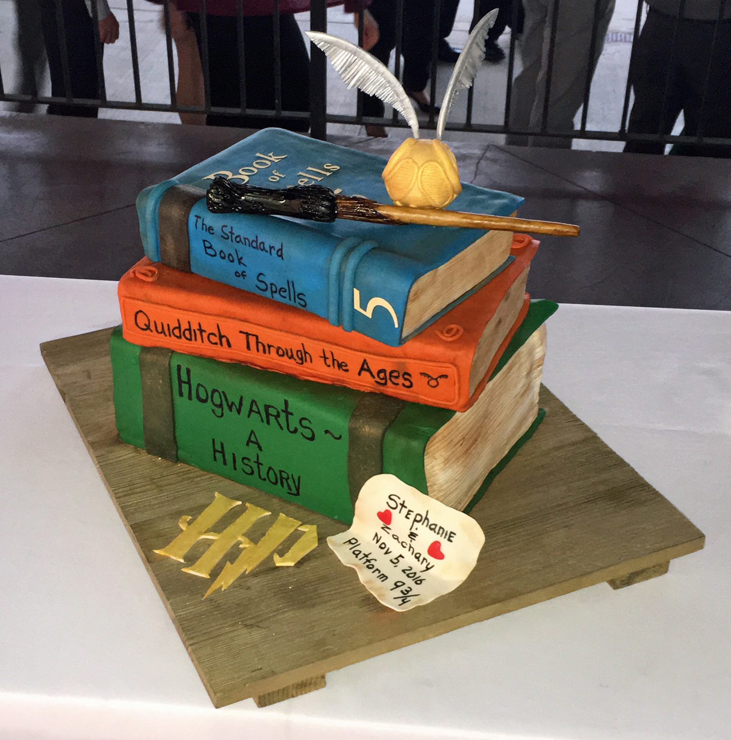 How To Do A Stacked Book Cake
