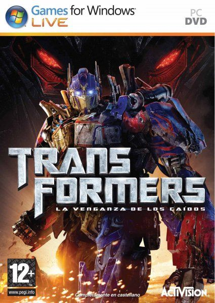 Descargar Transformers 2 Revenge of the Fallen español mega y por google drive /