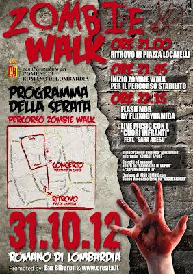 Zombie Walk Romano di Lombardia: 31 Ottobre 2012