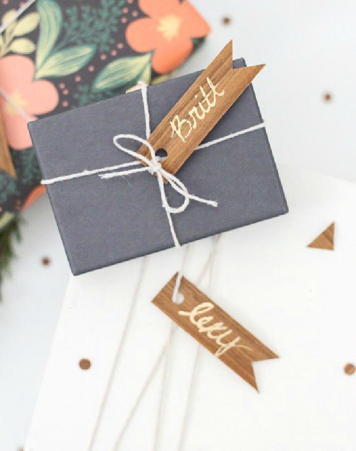 ideas para envolver regalos de Navidad