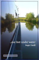 ...our feet under water