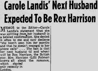 Carole Landis Rex Harrison