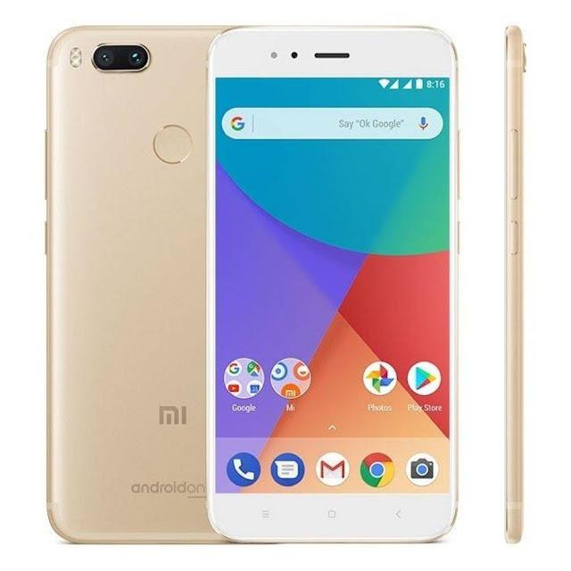 Celular até 1000 - Smartphone Xiaomi Mi A1 - Dourado