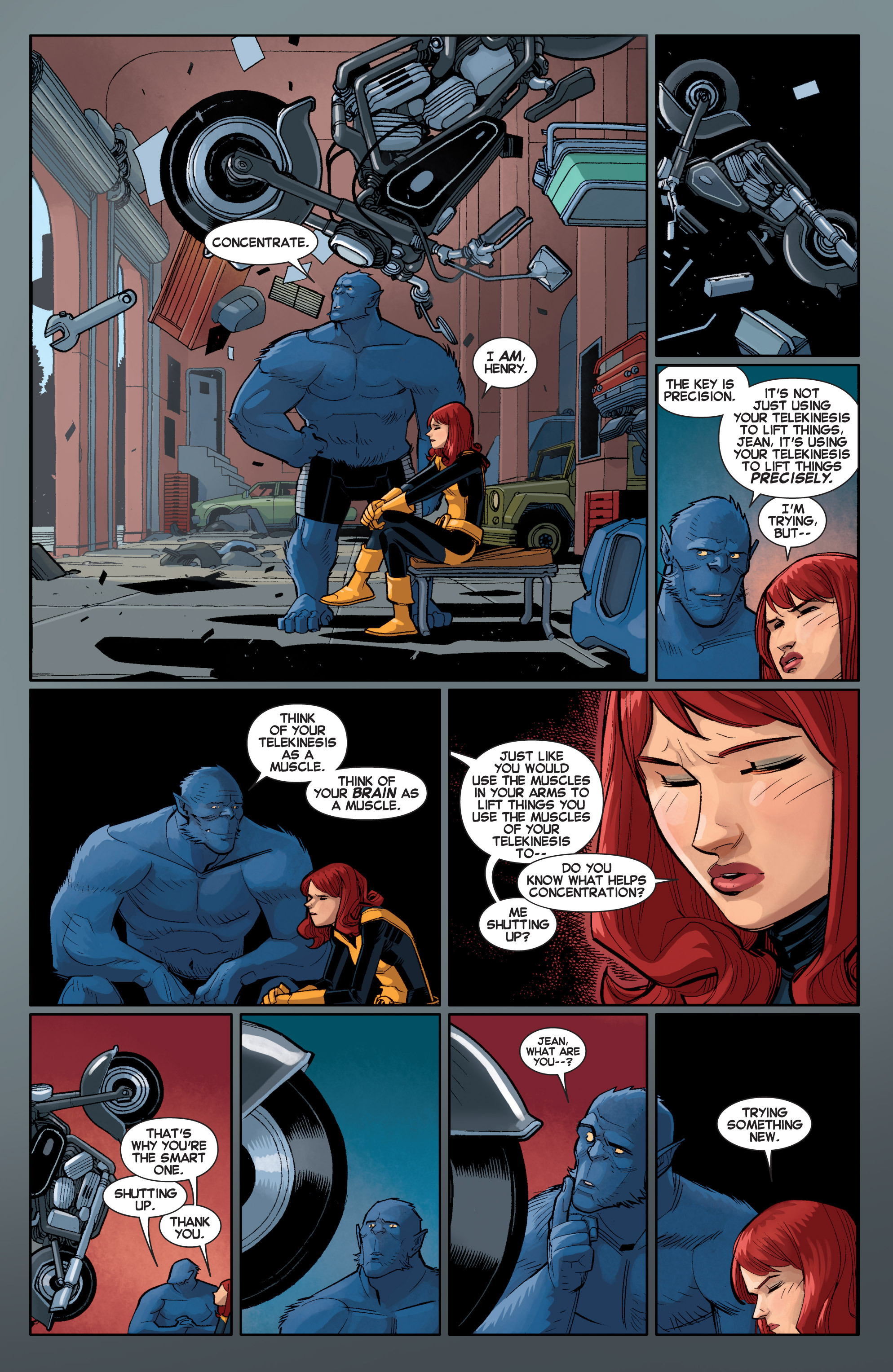 Read online All-New X-Men (2013) comic -  Issue # _Special - Out Of Their Depth - 95