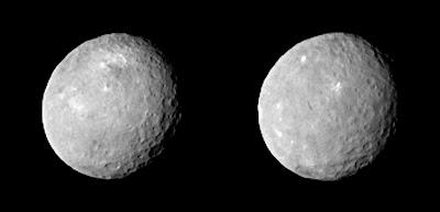 Fotografía de Ceres - Cinturón de asteroides