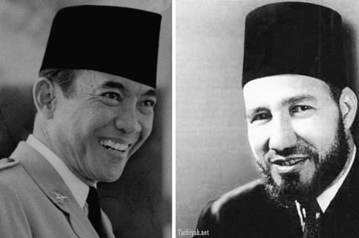 Soekarno dan Hasan Al Banna