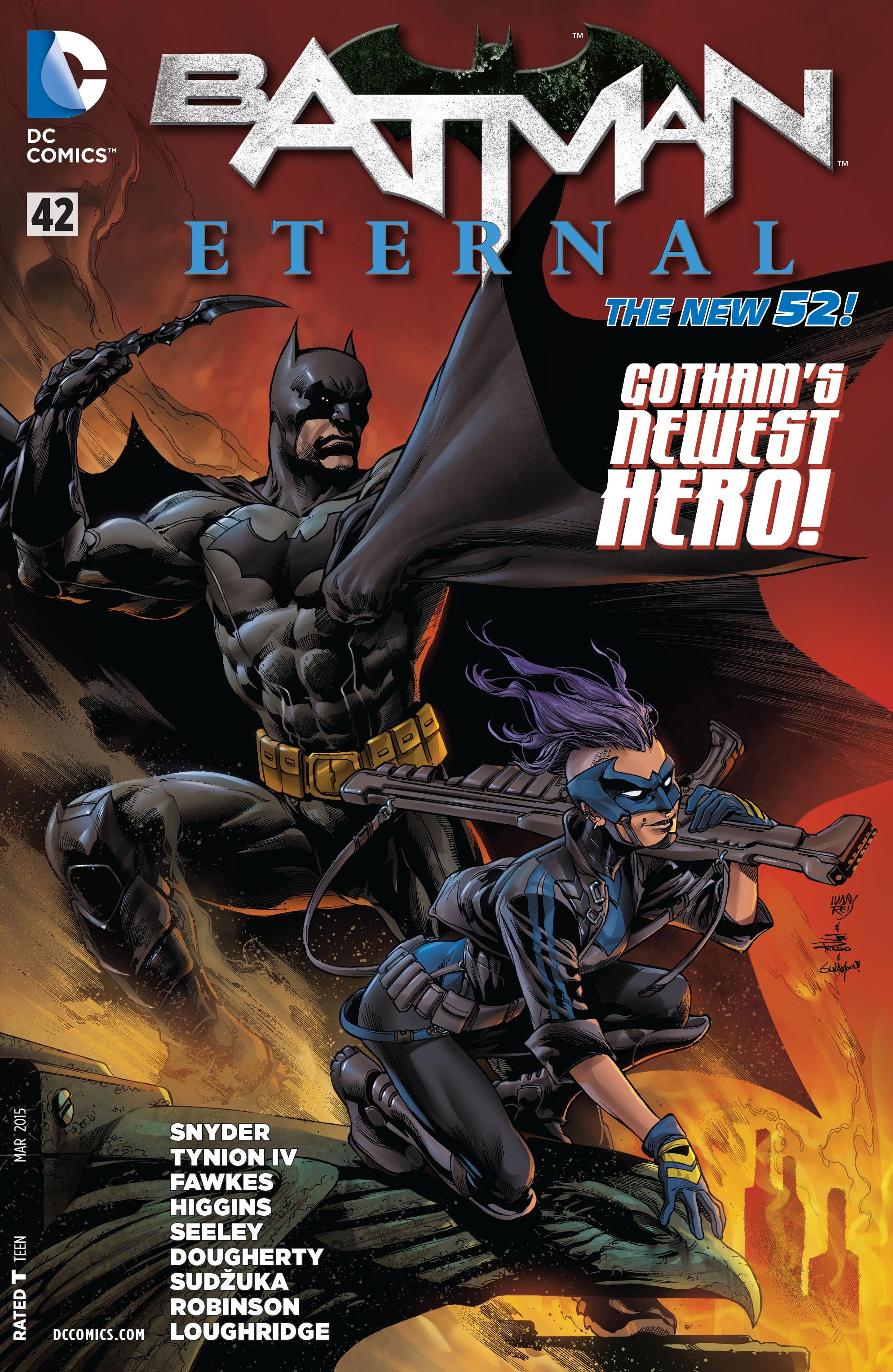 Batman Eternal issue 42 - Page 1